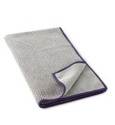 Limited Edition Textured Kitchen Towel, graphite/purple